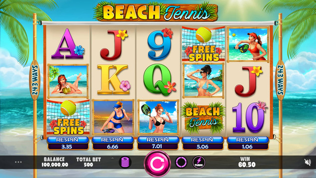 Caleta Gaming Releases Its Last Game Of 2020: Beach Tennis!