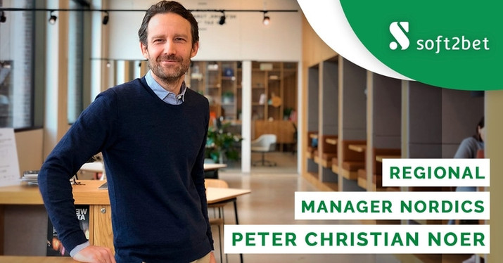 Soft2Bet Appoints Peter Christian Noer As Nordics Regional Manager