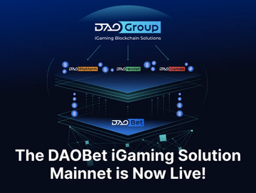 The DAOBet iGaming Solutions Mainnet is Now Live