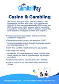 GumballPay Casino & Gambling Payment Gateway