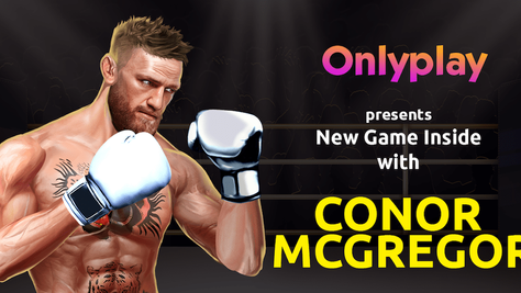 Onlyplay to Release Exclusive for  Parimatch With Brand Ambassador Conor McGregor