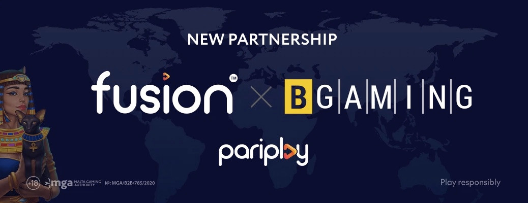 BGaming Strikes Deal With Pariplay: Studio Content To Be Added To Fusion Aggregation Platform