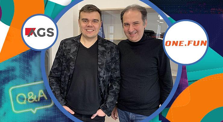 Volodymyr Harkusha and Mikayel Shahinyan, co-CEOs at one.fun