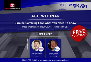Webinar: Ukraine Gambling Law - What You Need To Know
