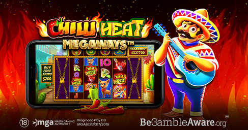 Pragmatic Play Embraces The Celebrations With Chilli Heat Megaways™