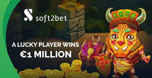 Lucky Player Wins €1 Million With Wazamba - Soft2Bet's Acclaimed Casino Brand