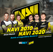 Markeloff vs S1mple: NAVI and 1xBet are about to bring us the clash of Counter-Strike titans