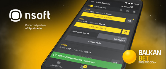 NSoft's Cash Out To Boost Balkan Bet's Betting Offer