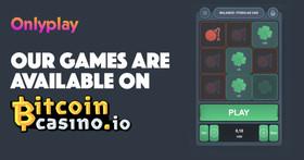 Onlyplay Now Live With Bitcoincasino.io