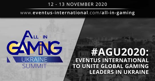 Eventus International to Unite Global Gaming Leaders in Ukraine
