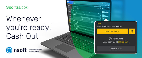 NSoft Introduces Cash Out – Live Betting's Feature That Punters Love