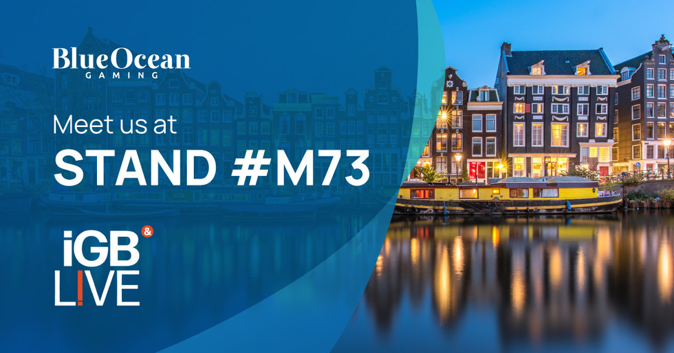 Discover BlueOcean Gaming At iGB Live! Amsterdam 2021