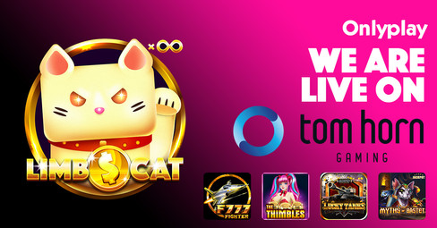 Onlyplay Partner with Tom Horn Gaming