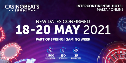 CasinoBeats Summit and Malta's Spring iGaming Week move to May 2021