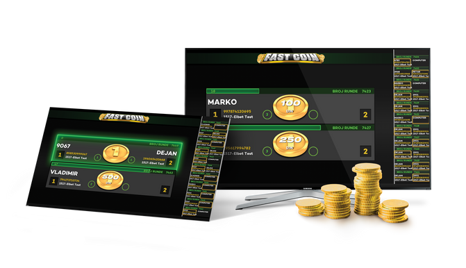 Fast Coin - Flip Virtual Coins With Your Friends