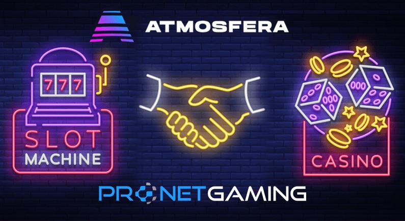 Pronet Gaming and ATMOSFERA establish new partnership