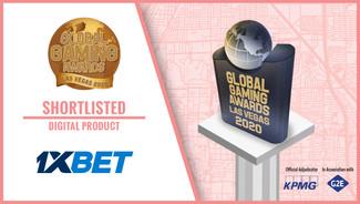 1xBet nominated at prestigious Global Gaming Awards