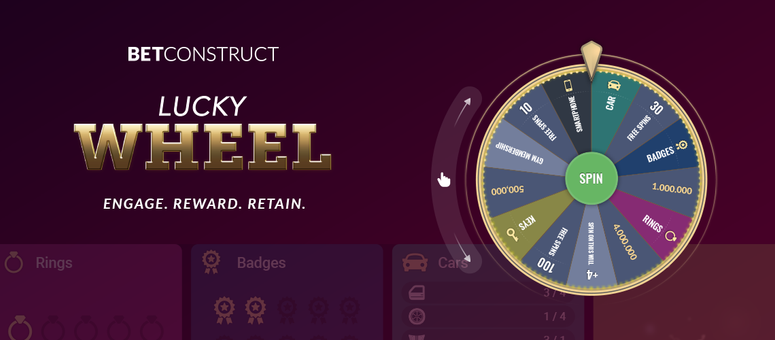 BetConstruct Launches Lucky Wheel Engine