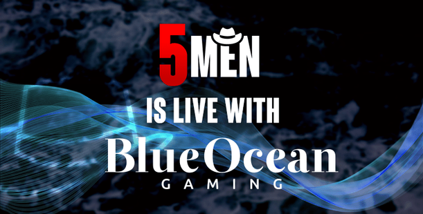 BlueOcean adds Five Men Gaming content to its Casino Aggregation Platform