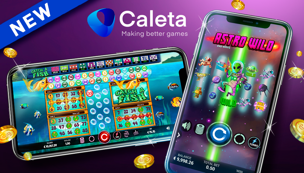 Caleta Gaming Launches Astro Wild and Catch a Fish