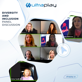 UltraPlay's CMO Joined a Diversity and Inclusion Panel Discussion for International Women's Day