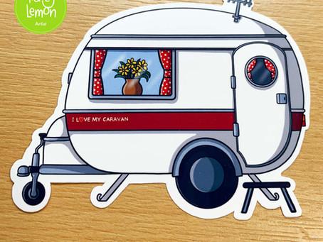 New Caravan Stickers