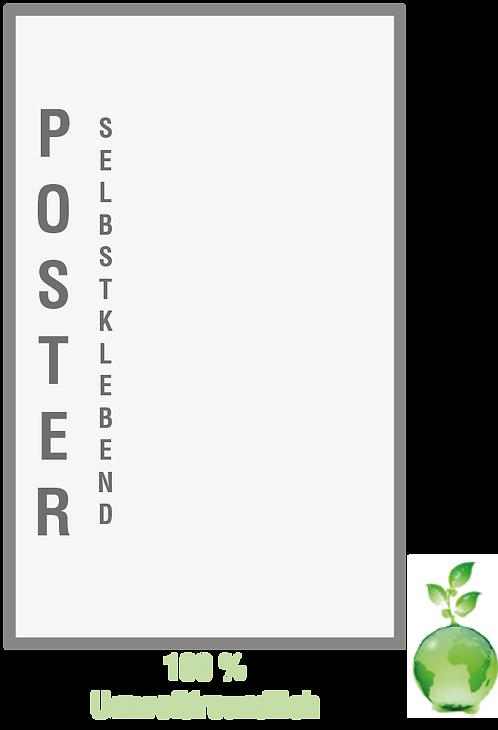 Poster Folie (Selbstklebend)