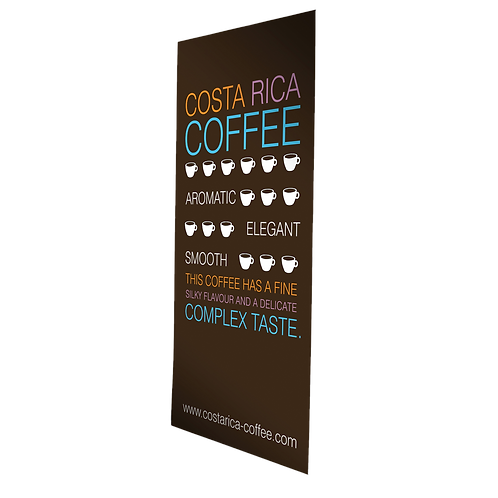 Mobile Stand L-Banner inkl. Druck