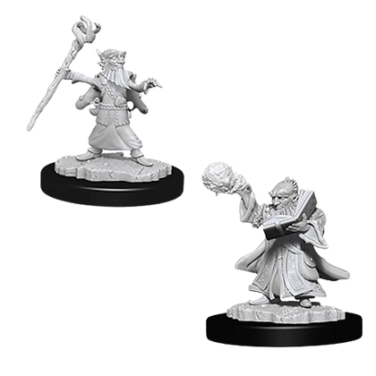 Gnome Wizard (Male) - Nolzur's Marvelous Miniatures
