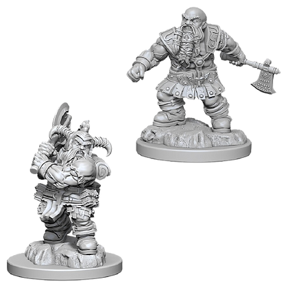 Dwarf Barbarian (Male) - Nolzur's Marvelous Miniatures