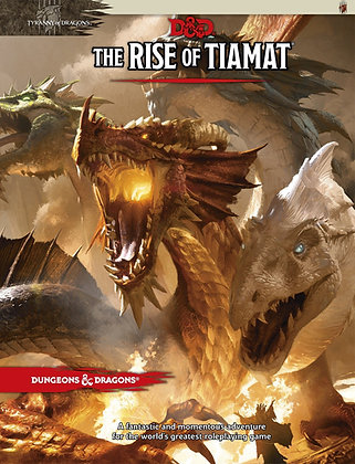 D&D 5th Edition The Rise of Tiamat