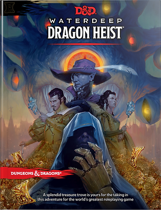 D&D 5th Edition Waterdeep: Dragon Heist