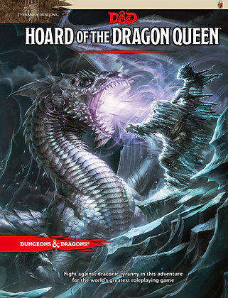 D&D 5th Edition Hoard of the Dragon Queen