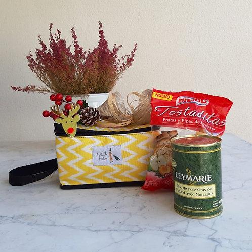 Nevera XS + lata de foie gras francés + panecillos