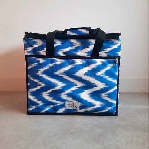 Nevera XL Zig Zag Azul