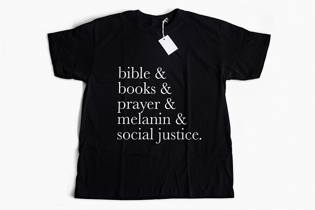 Black and Christian Tee