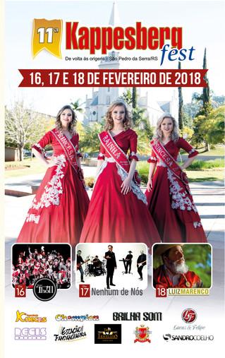 11ª Kappesbergfest terá atrações para todos os públicos