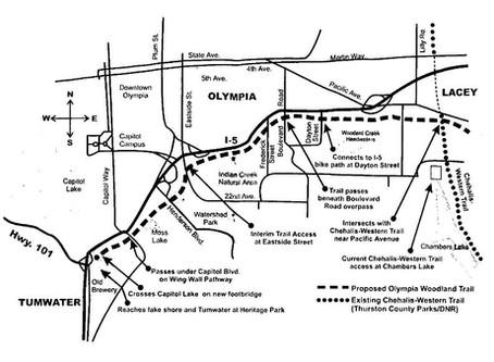 Olympia Woodland Trail