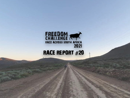 2021 RASA | RTP Race Report #20 | Mike Woolnough