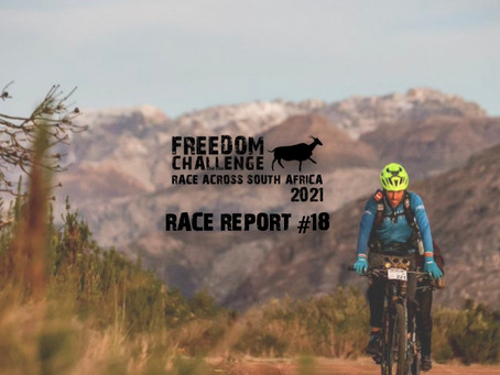 2021 RASA Race Report #18 | Mike Woolnough