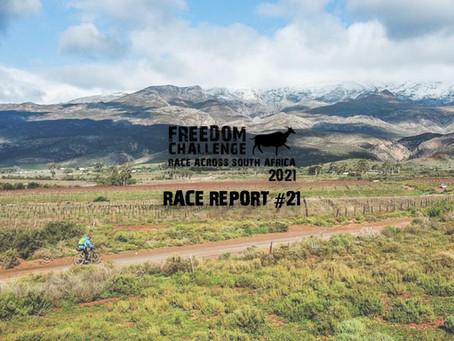 2021 RASA | RTP Race Report #21 | Leon Erasmus