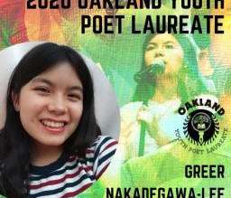 Interview with Greer Nakadegawa-Lee, Oakland's Youth Poet Laureate
