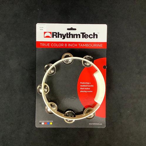 "RhythmTech 8"" Tamborine White"