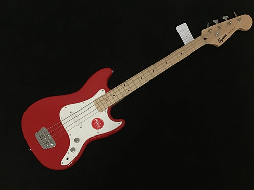 Squier Affinity Bronco Short Scale Electric Bass - Torino Red