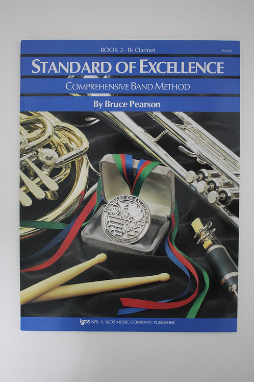 Standard Of Excellence: Comprehensive Band Method, Clarinet Book 2