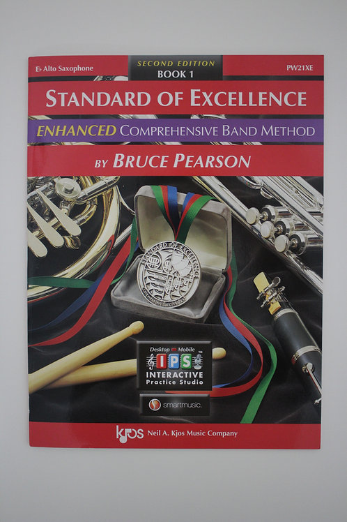 Standard Of Excellence: Enhanced Comprehensive Band Method, Alto Sax Book 1