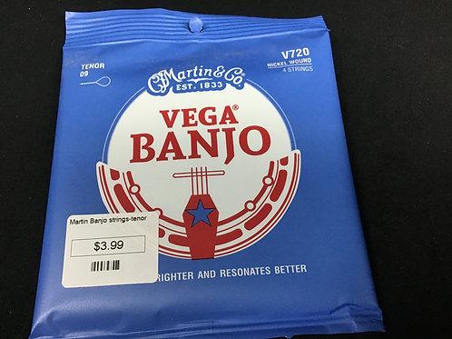 Martin Vega Banjo V720 Nickel Wound Tenor 09