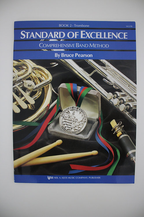 Standard Of Excellence: Comprehensive Band Method, Trombone Book 2