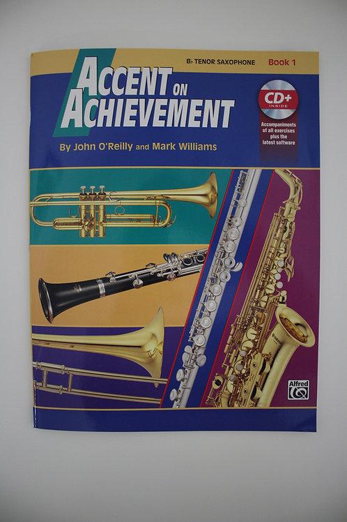 Accent On Achievement, Tenor Sax