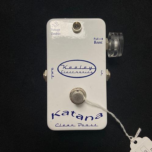 2012 Keeley Katana Clean Boost
